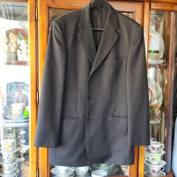 Lord West Other - Men's Lord West Suit Jacket Dark Grey Size 42 Long